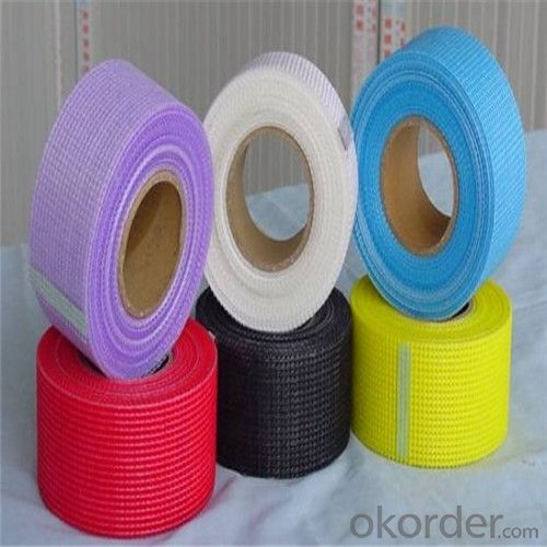 Fiberglass Adhesive Jointing Mesh Tape 75g/m2 2.85*2.85/Inch With High Tensile Strenth