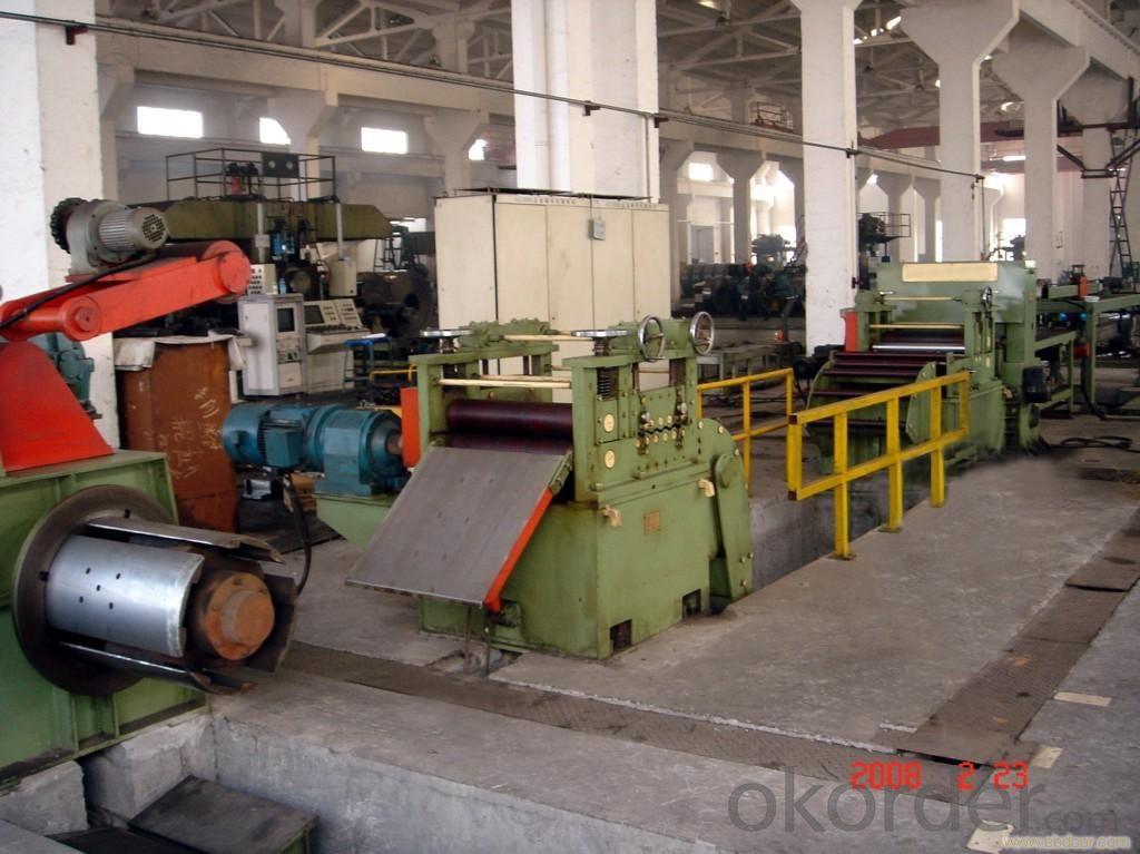 Thin Sheet Transverse Shear Production Line