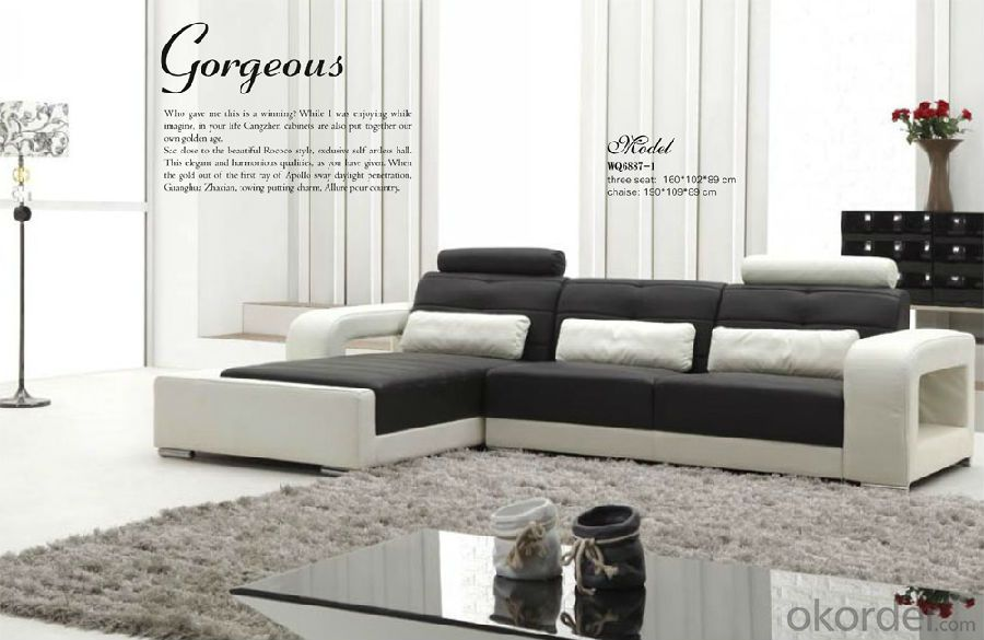 Living Room Couch Furniture of Luxury Design