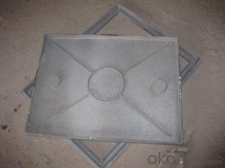 Manhole Cover Ductile Iron Cast Iron EN124 GGG40