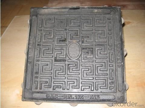 Manhole Cover Ductile Iron EN124 GGG40 C250 DI