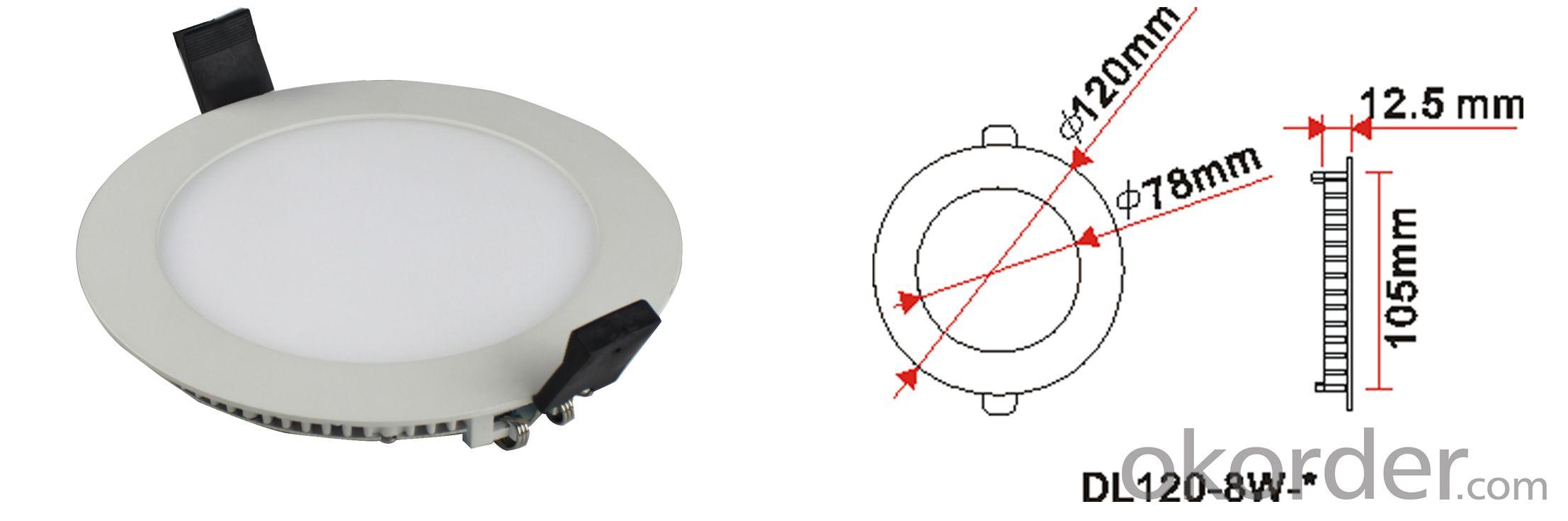 Φ115mm Round LED Panel Lights