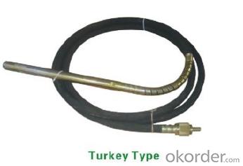 Portable Gasoline/Petrol Concrete Vibrator With Vibrator Hose Shaft Turkey Type