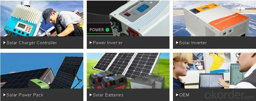 Pwm/mppt Solar Inverter1000W -6000W Reliable