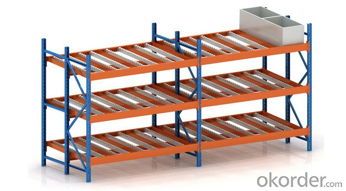 Cargo Flow Racking Systems for Warehouses