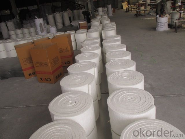Ceramic Wool Blanket Exhaust Pipe Packing For Car