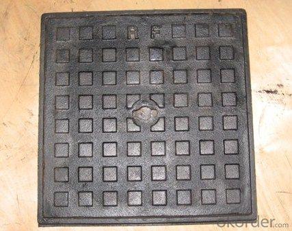 Manhole Covers Ductile Iron EN124 B125 Bitumen Coating