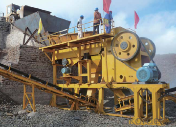 2015 New Stone Jaw Rock crusher PE-600*900