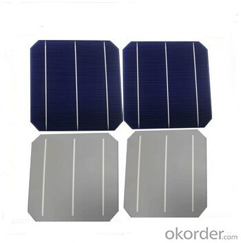 Monocrystalline Solar Cells High Quality 17.00-18.20