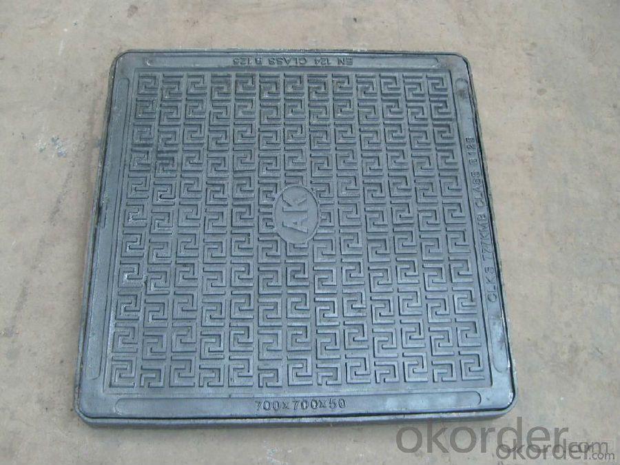 Manhole Cover BS&EN124 D400/B125 for public use