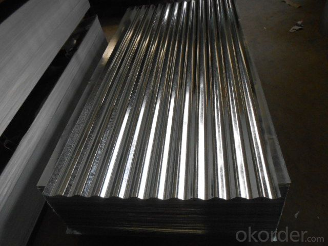 Corrugated-Hot-Dip Galvanized Steel Sheet in Sheet