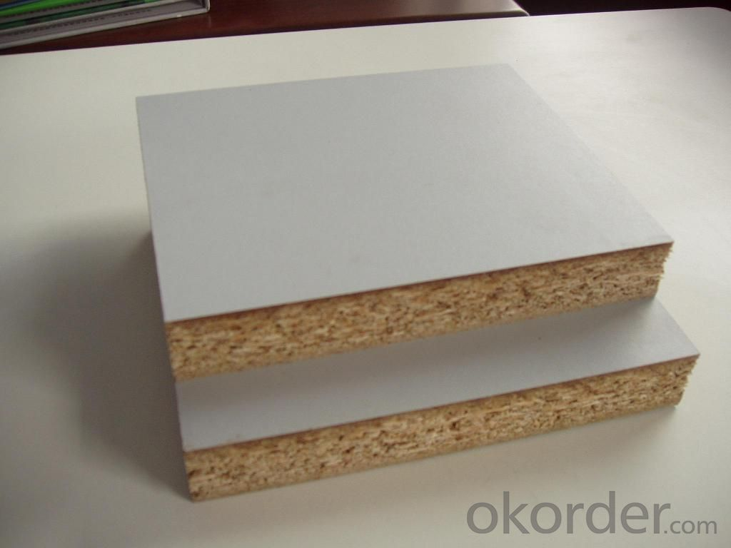 Melamine Laminated Particle Board Melamine Chipboard