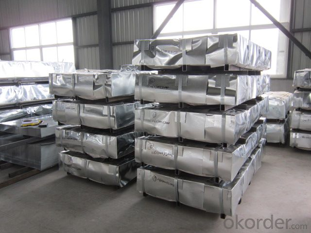 Corrugated Hot-Dipped Galvanized-Steel-Sheet
