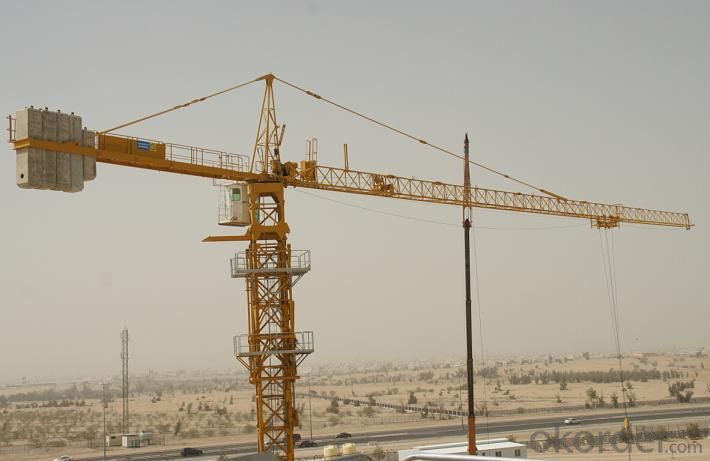 tower crane hydraulic self-erecting HS5008