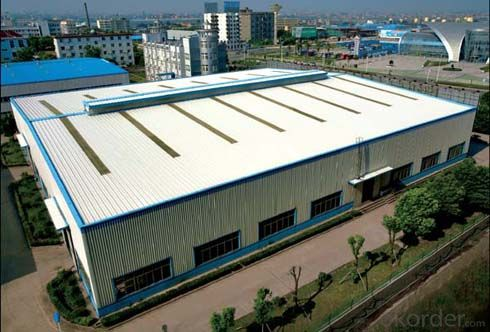 Prefabricated Steel Structure Workshop Project