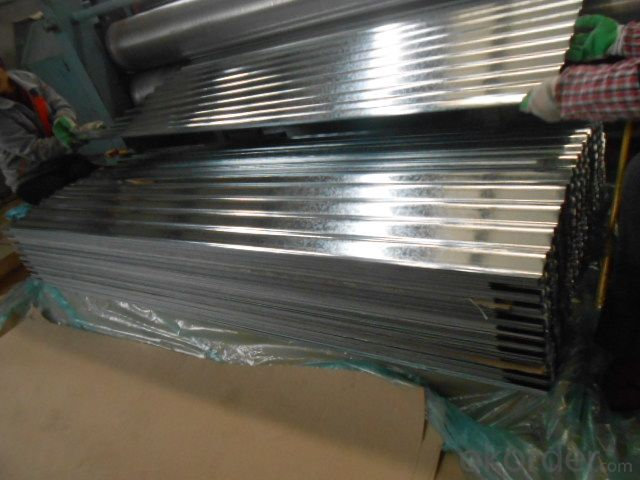 Corrugated Hot Dipped Galvanized Steel-Sheets
