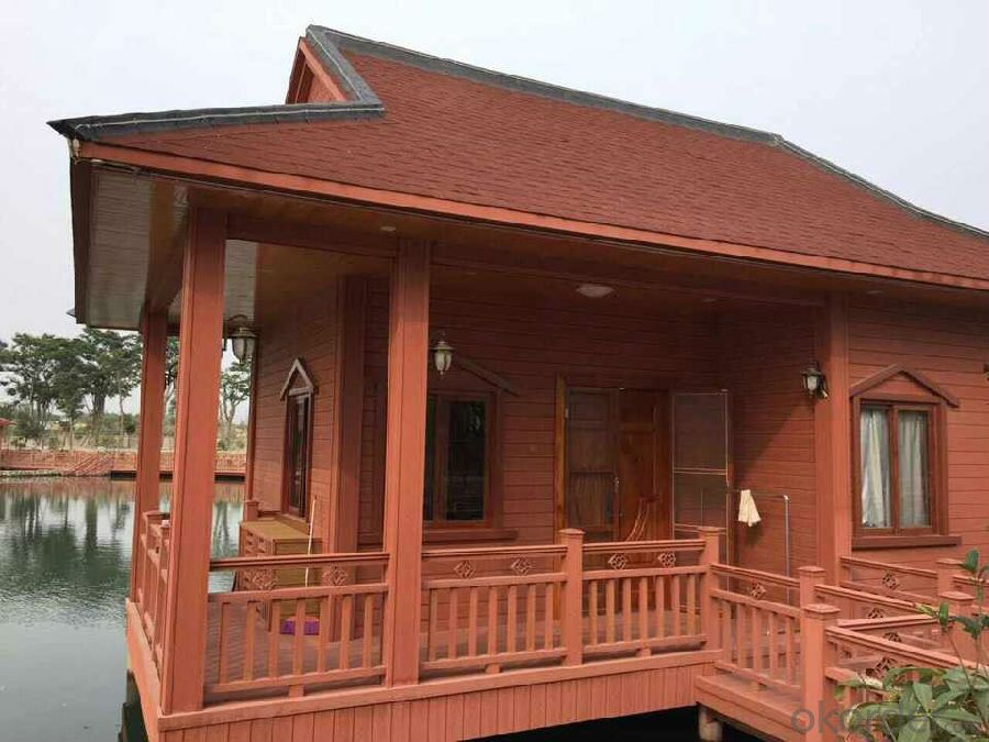 Prefab Decks WPC House Decking Outdoor Use