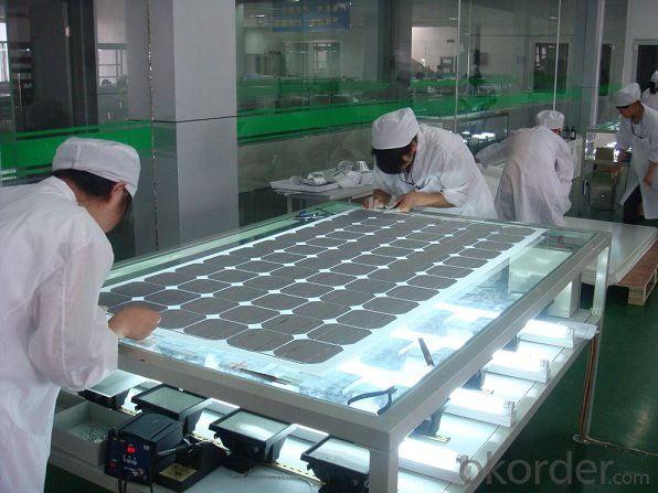 250watt Crystalline Solar Panels for Rooftop Systems