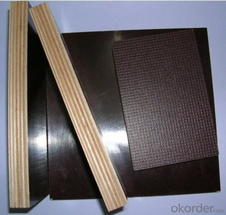 Square Shaped Anti-Slippery Film Faced Plywood