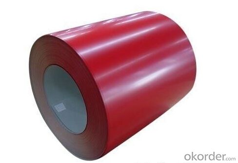 Pre-Painted Galvanized Steel Coil of High Quality with Different Color