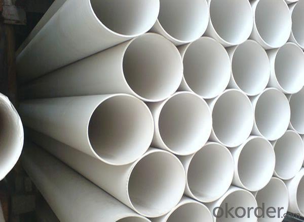 PVC Pipe grey Wall thickness:1.6mm-26.7mm Length: 5.8/11.8M Standard: GB