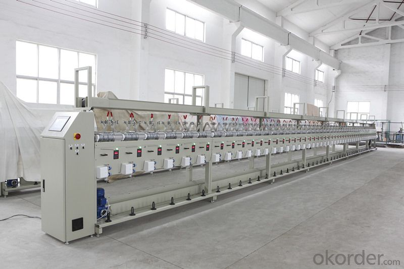 Soft Motor Bobbin Winding Machine for Plastic Cone