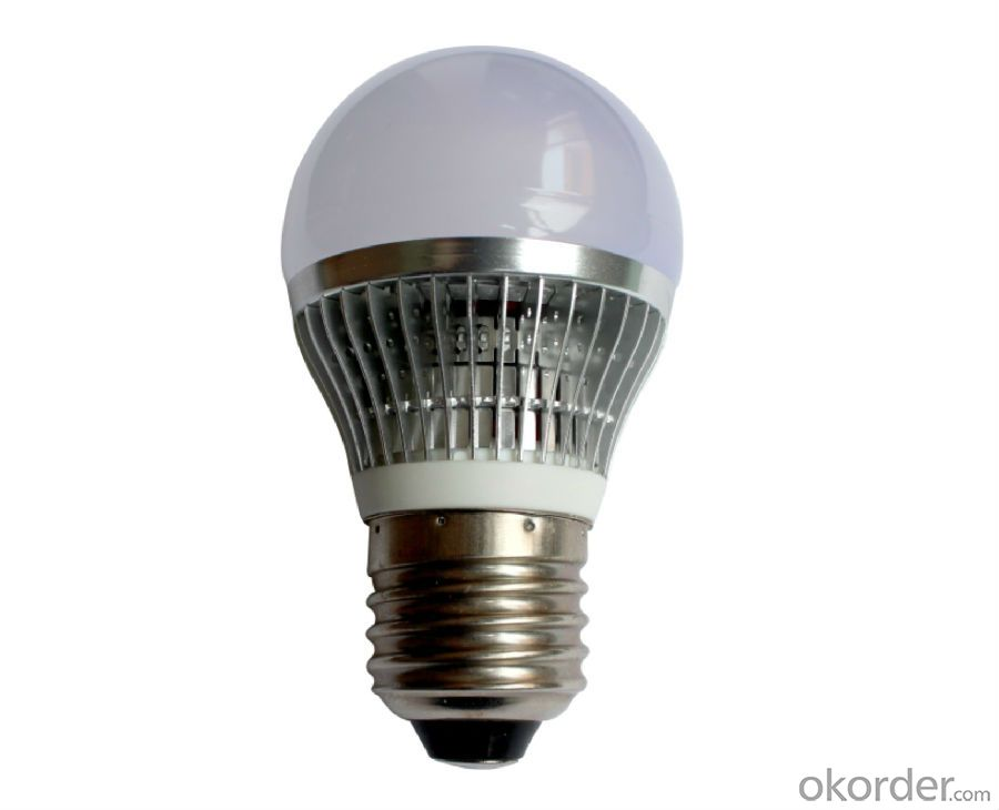LED bulb light CRI80, 60W incandescent UL standard