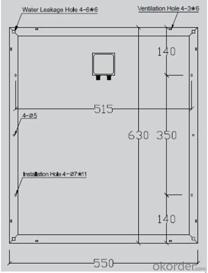 Monocrystalline Solar Panels-45W-Apply to solar systems