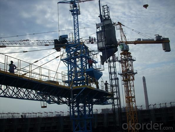 Passenger Hoist with Model of SC160/160 with 1.6 Ton per Cage