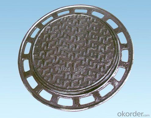 Ductile Iron Manhole Cover En124/d400 ,GGG500&400-12