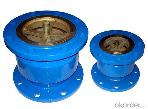 Silence Check Valve ISO Ductile Iron  For  Water pipe