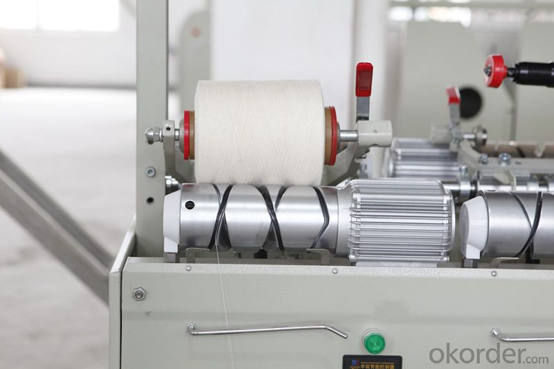Drum Type Ball Winding Machine for Sewing Thread