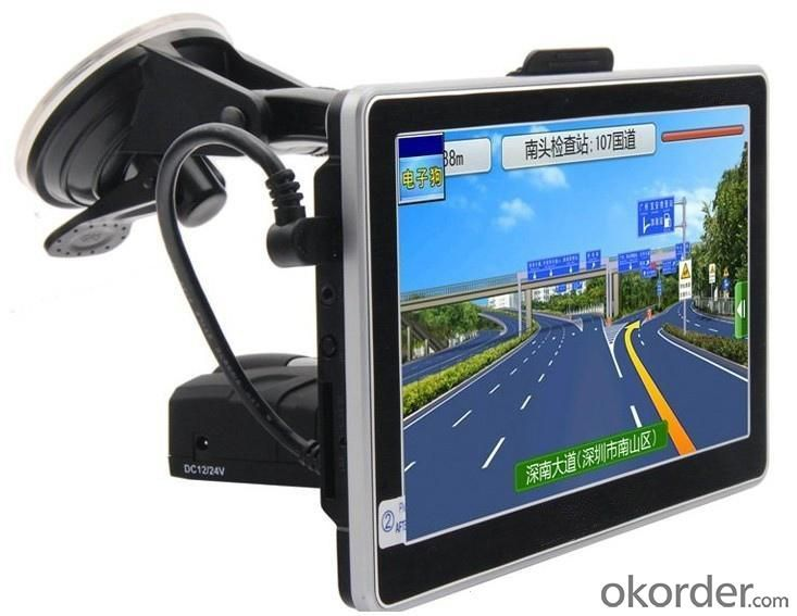 GPS Navigator 7 Inch Touch Screen Bluetooth Car