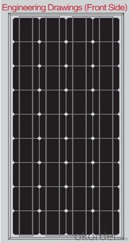 Monocrystalline Solar Panels-90W-Apply to solar systems