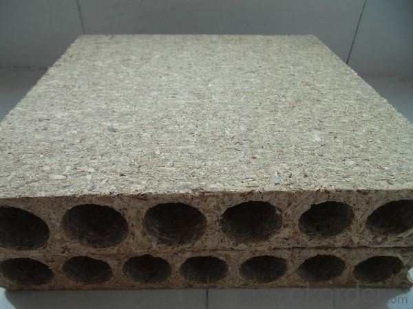 high quality hollow chipboard/particle board