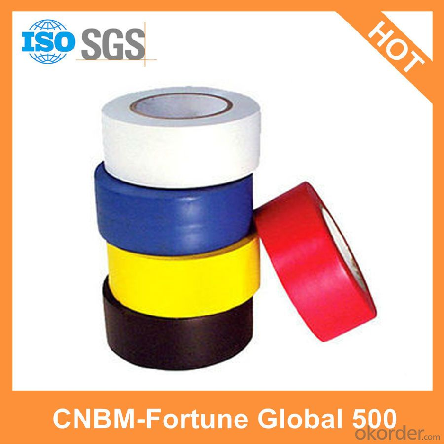 Surface Protecting Natural Rubber Marking Tape Colorful Custom Made Factory