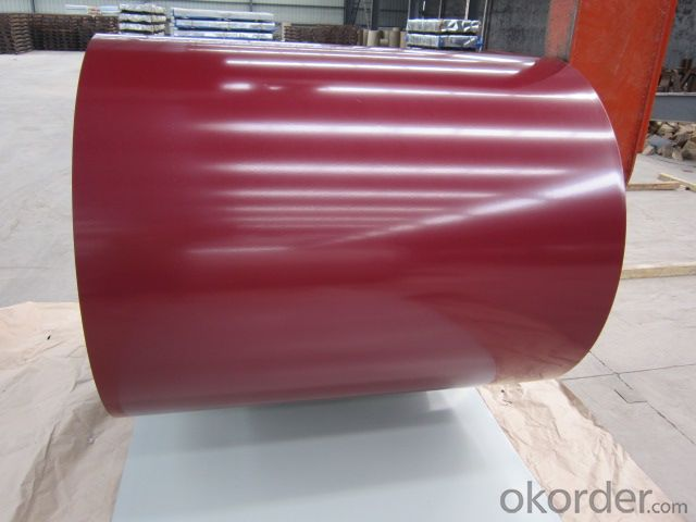 Pre Painted Galvanized Steel Coil in Coil Colored