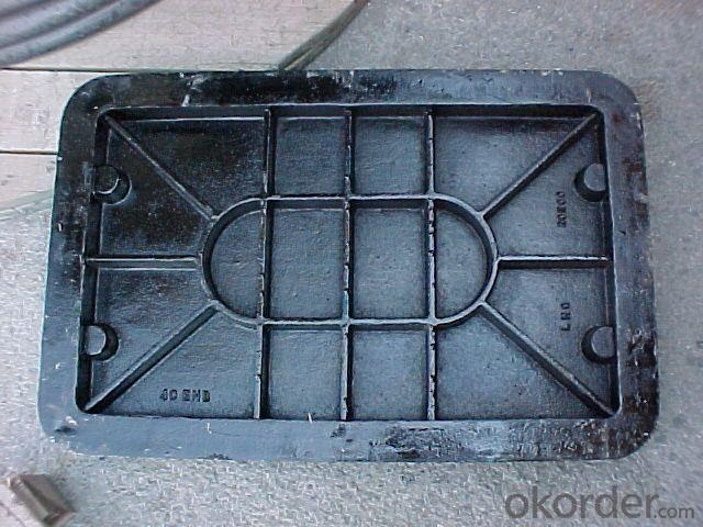 Manhole Cover Ductile Iron EN124/D400, B125 C250 D400