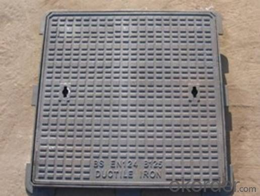Ductile Iron Manhole Cover EN124/d400,Grey Iron GG20