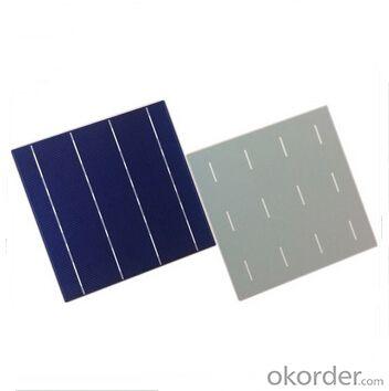 Polycrystalline Solar Cell High Quality 17.2%-18.4% Effy