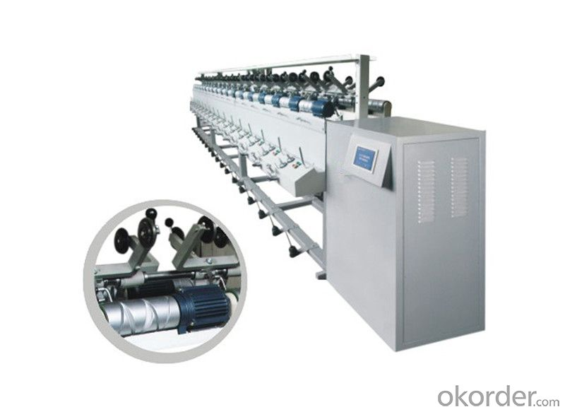 Yarn Winding Machine with Independent Motor