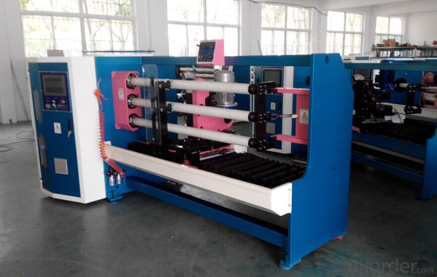 Masking Tape Slitting And Rewinding Machine