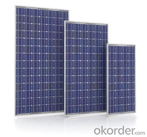 CNBM Crystalline Solar Panels Made in China Exported to Pakistan