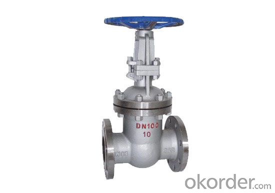 Gate Valve Ductile iron Double Flanged  with Cap DN200