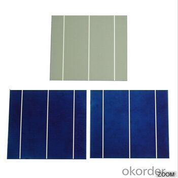 Polycrystalline Solar Cell High Quality 16.80%-17.99% Effy