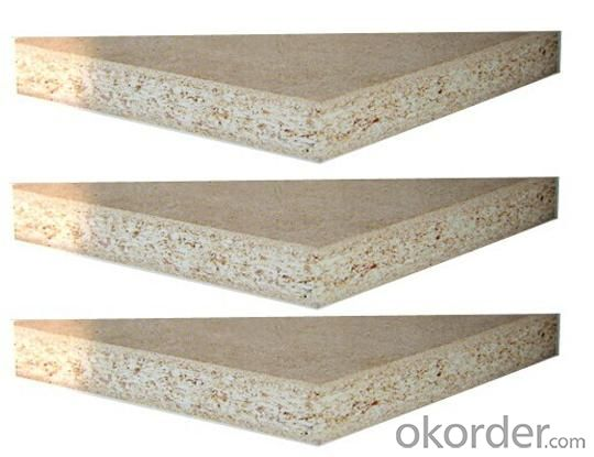 Plain Particle Board Raw Particle Board For Furniture Use