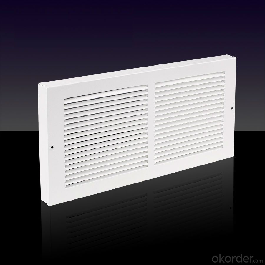 Damper Linear Air Grilles For Ceiling and Sidewall Use