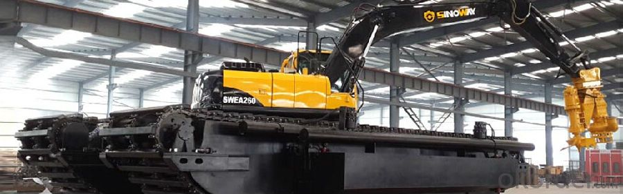 Sinoway Amphibious Excavator