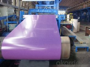 Colour Painted Hot  Dipped Galvalume Steel Sheet In Coils