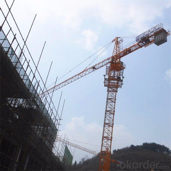Tower Cranes luffing self-raising electric QTZ160(7040)